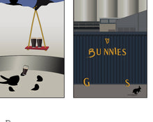 Load image into Gallery viewer, One Quiet Night in The Guinness Brewery Art Print