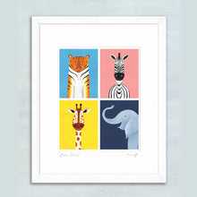 Load image into Gallery viewer, Zoo Crew giclee print
