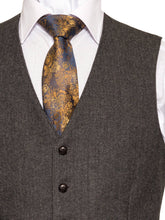 Load image into Gallery viewer, Behan Tweed Waistcoat