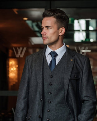 Swift Grey Slim Fit Jacket