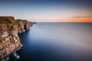 """Cliffs of Moher Sunset"" - photographic print"