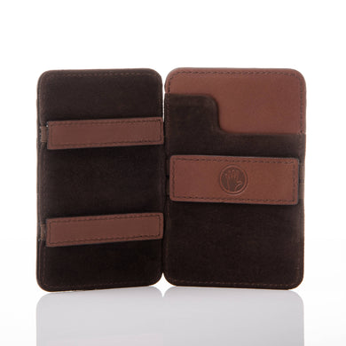 Magic Wallet Chocolate Brown
