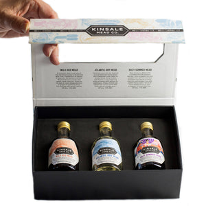 Gift Box - A mead tasting trio presented in an illustrated box