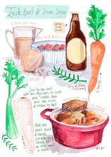 Load image into Gallery viewer, Irish Stout Stew Recipe Print