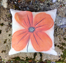 Load image into Gallery viewer, Poppy Natural Linen Cushion