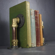 Load image into Gallery viewer, INDUSTRIAL BOOK END HOLDERS