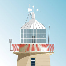 Load image into Gallery viewer, Howth Harbour Lighthouse - art print