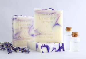 Palm Free Irish Soap, Calming Relaxing Classic Irish Lavender