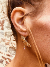 Load image into Gallery viewer, Butterfly Drop Earrings