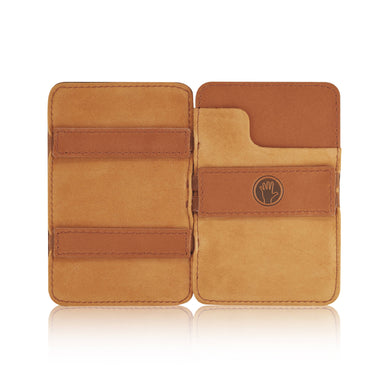 Magic Wallet Tan with Luxury Suede