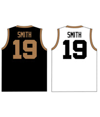 "CASTLE TRIBUTE SET 2 ""REVERSIBLE"" BASKETBALL PINNIE JERSEY"