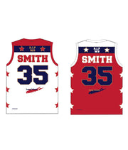 "CASTLE TRIBUTE SET 4 ""REVERSIBLE"" BASKETBALL JERSEY"