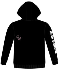 CURTIS WARRIORS PERFORMANCE ICON HOODIE (BLACK)