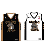 "CASTLE TRIBUTE SET 2 ""REVERSIBLE"" BASKETBALL JERSEY"