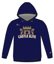 CASTLE PERFORMANCE HOODIE (NAVY/GOLD)