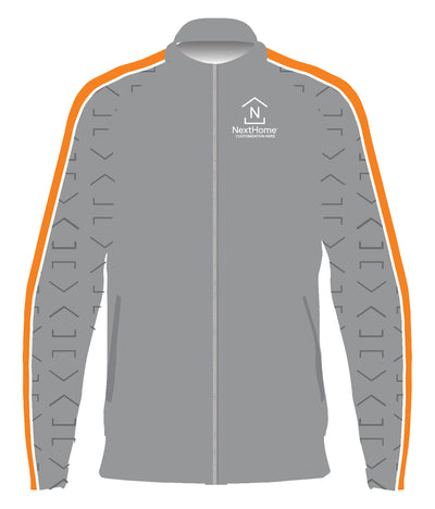 NextHome Full zip Track Jacket (Grey)