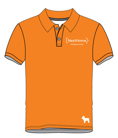 NextHome Performance Polo (Orange)