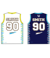 "CASTLE TRIBUTE SET 3 ""REVERSIBLE"" BASKETBALL JERSEY"
