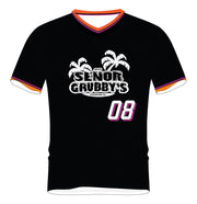 SEÑOR GRUBBY'S SOCCER TOP (BLACK/ORANGE)