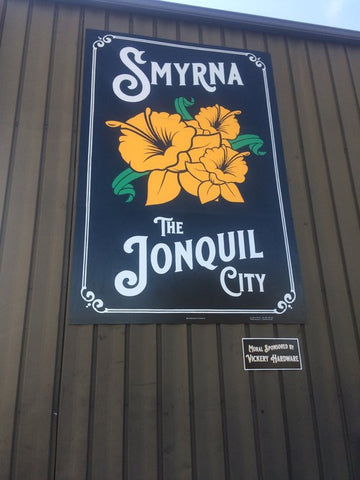 Smyrna Georgia, The Jonquil City Mural