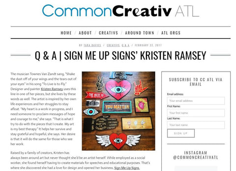 Common Creative ATL Article