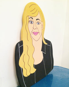 Custom Portrait Painting - Portrait From Photo Hand Painted on Wood