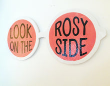 Load image into Gallery viewer, Rose Colored Glasses Feminist Wall Art