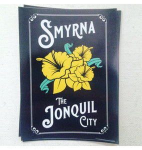 Smyrna The Jonquil City Sticker
