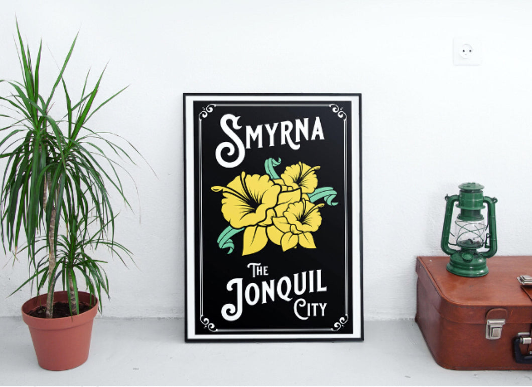 Smyrna The Jonquil City Art Print