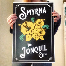 Load image into Gallery viewer, Smyrna The Jonquil City Art Print