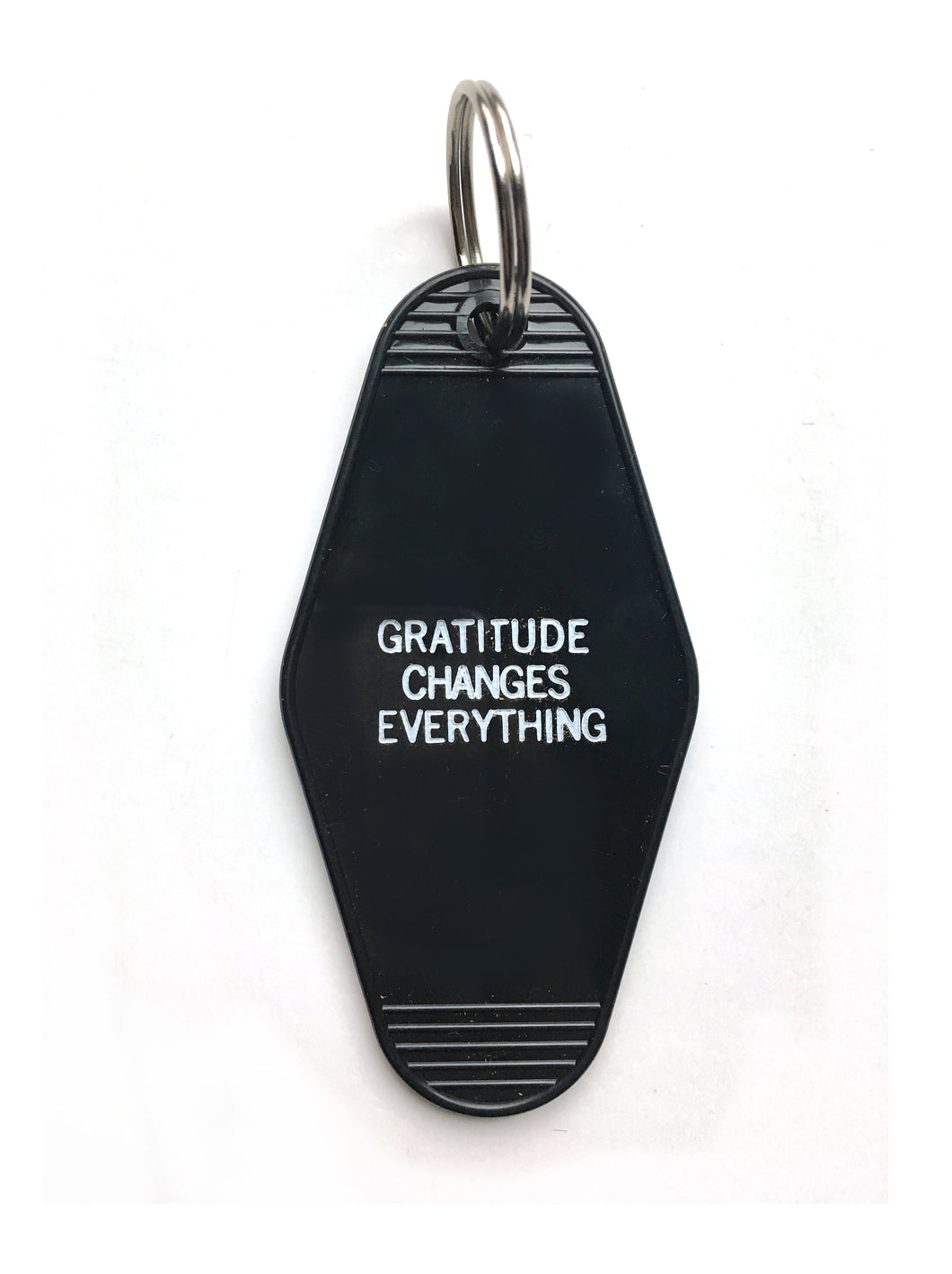 Gratitude Changes Everything Keychain