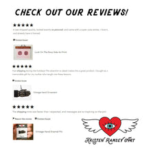 Load image into Gallery viewer, Winged Heart Vinyl Laptop Sticker