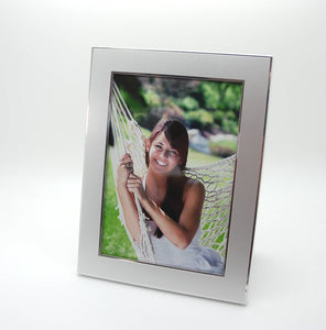 Personalized photo frame 5x7 -  Engraved with 2 lines of text