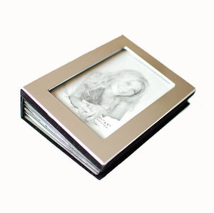 Personalized photo album Engraved with Name and date.