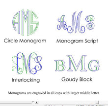 personalized compact mirror monogram with initials - bridesmaid maid of honor flower girl gift