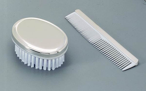 Engraved baby hair brush and comb set - Personalized baby gift for boy or girl