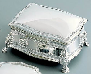 Personalized victorian 6 inch jewelry box - Engraved with name or monogram