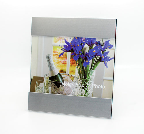 Personalized 5x7 photo frame - Custom Engraved with Name or Quote