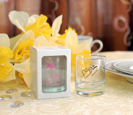 Gift Box with Window for Shot Glass or Votive