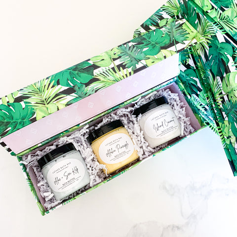 Tropical Bath Butter Trio
