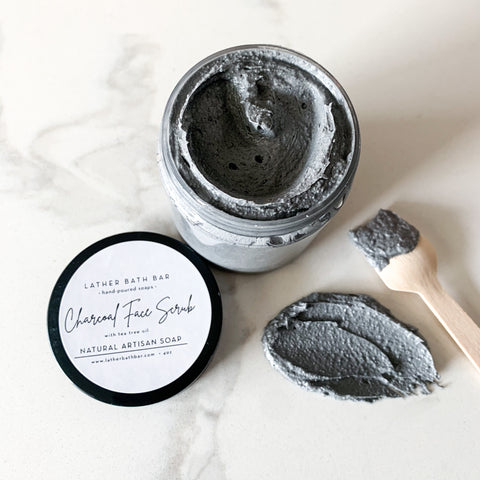 Charcoal Face Scrub - 4oz