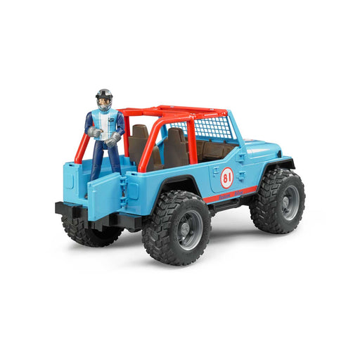 BRUDER Jeep Cross Country Race Blu - 02541