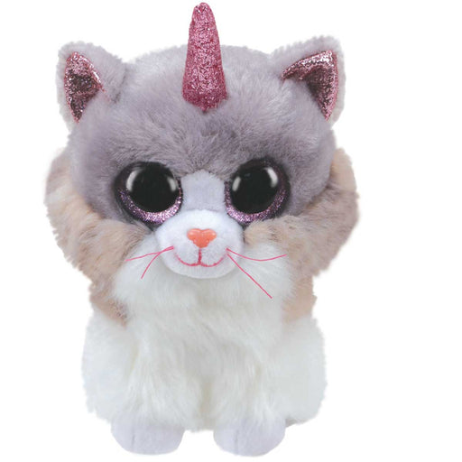 BINNEY & SMITH LTD Ty - Beanie Boos 15Cm Asher - Gatto Bianco Unicorno - T36306