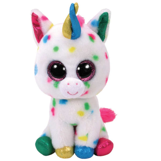 BINNEY & SMITH LTD Ty - Beanie Boos 15Cm Harmonie - Unicorno Multicolore - T36898