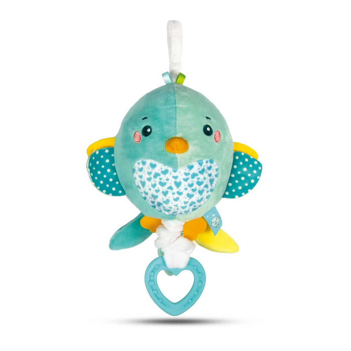 CLEMENTONI Baby Soft Bird Musical Plush - 17269