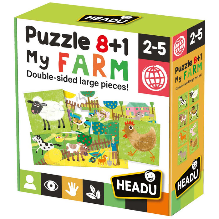 HEADU Montessori First Puzzle The Jungle - IT20867