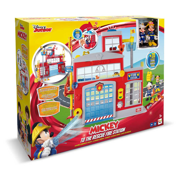 IMC TOYS To The Rescue Fire Station Mickey - 181939MM1