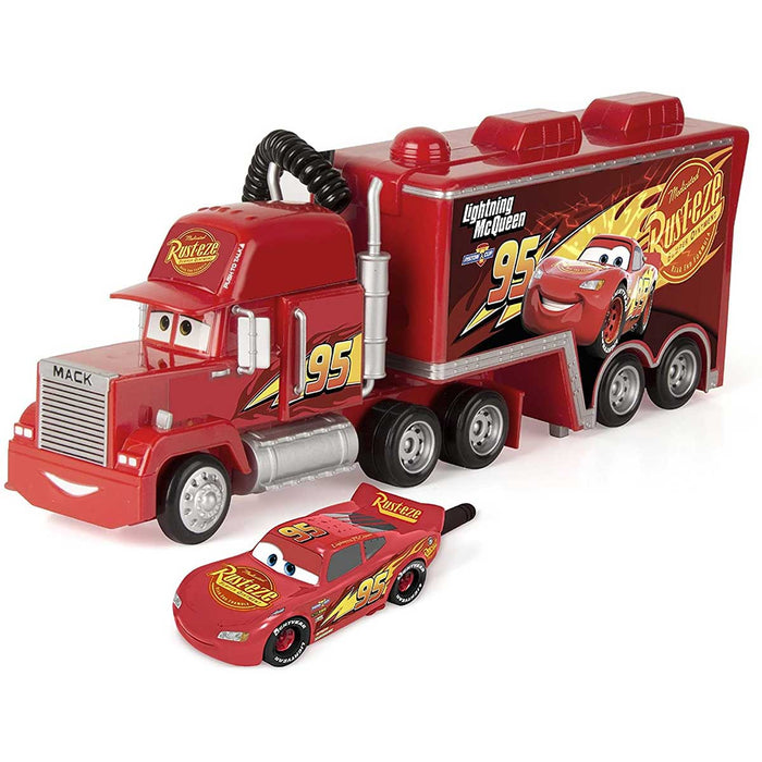IMC TOYS Cars Super Communicator Mack Truck E McQueen- 250222