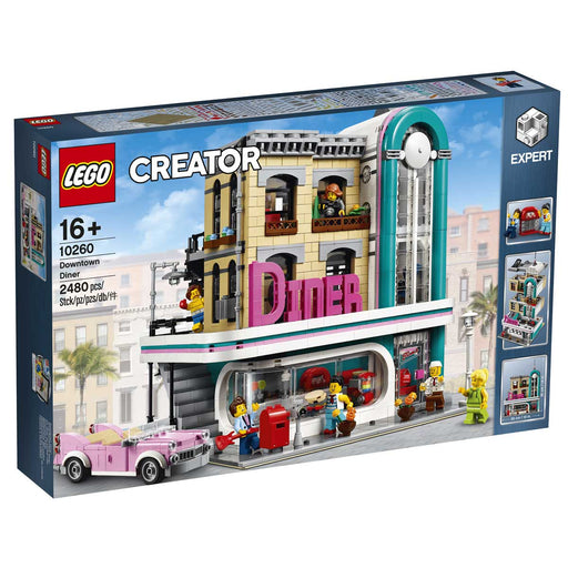 LEGO Creator Expert Downtown Diner - 10260