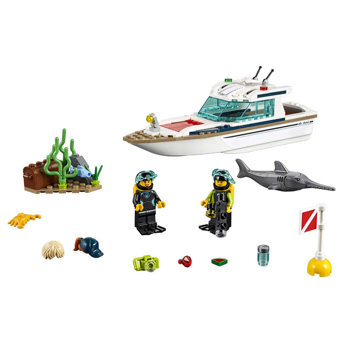 LEGO City Yacht Per Immersioni - 60221